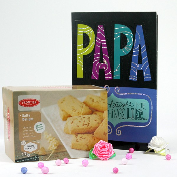 Salty Cookies n Greeting Card Hamper